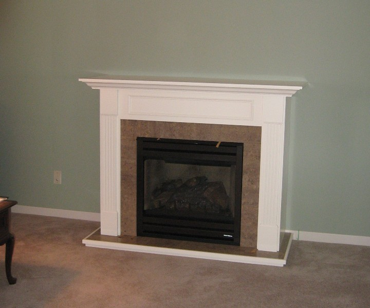 Cabinets And Fireplace Surrounds: Wood Duck Manufacturing Beam Mantel Gallery